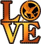 LOVE HUNGER GAMES MOCKINGJAY