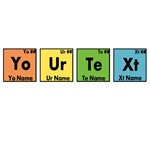 Personalized Periodic Elements