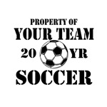 Property of Your Team Personalized Soccer