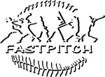 Fastpitch Softball Silhouette Style