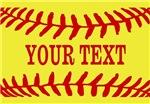 Personalized Softball