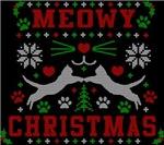 Meowy Christmas Cute Ugly Christmas Sweater