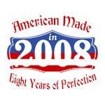 American Made in 2008 8th Birthday Patriotic