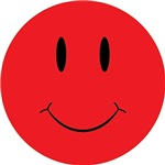 Red Happy Face