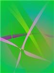 Abstract Pattern Green Grass