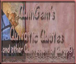 QuinGem's Quixotic Quotes & Quintessential Qurap