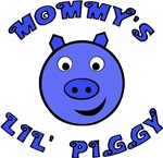 Mommy's Lil' Piggy (blue)