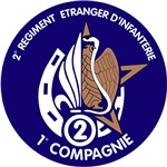 1st Company Compagnie 2nd Regiment