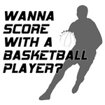 Score With A Basketball Player