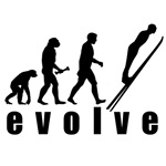 Evolve Skiing Jump