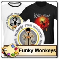 Funky Monkeys t-shirts and gifts
