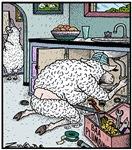 Sheep Plumber butt crack