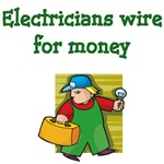 Electricians Wire For Money