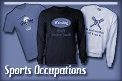 Sports Occupations T-shirts and Gifts