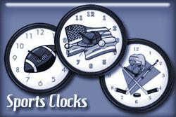Sports Occupation Wall Clocks