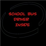 School Bus Driver Inside