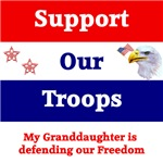 My Granddaughter is Defending Our Freedom