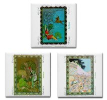 Beauty of Iran: Ceramic Tile Coasters