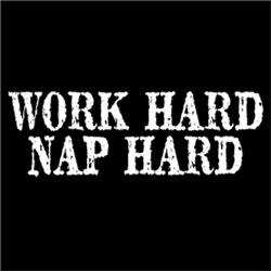 Work Hard Nap Hard #
