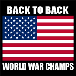 World War Back To Back Champions Champs USA