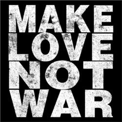Make Love Not War Vintage
