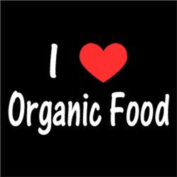 I Love Heart Organic Food