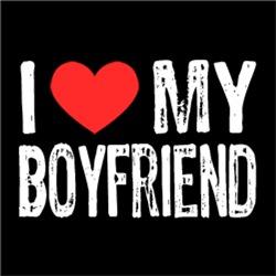 I Love My Boyfriend Couple Man Woman