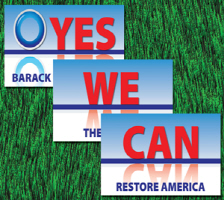 OBAMA '08 -YES WE CAN