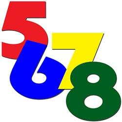 5-6-7-8