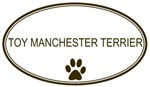 Oval Toy <strong>Manchester</strong> <strong>Terrier</strong>
