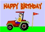 Happy Birthday Golfer