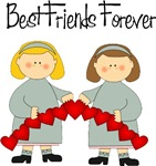 Best Friends Forever Hearts