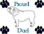 Proud Dad-blue/black