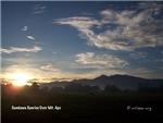 Sandawa Sunrise over Mt Apo