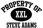Property of Steve Adams