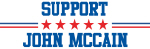 Support JOHN MCCAIN