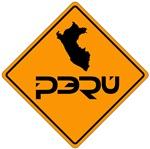 Peru yellow sign