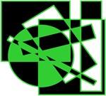 Squares And Circle Design #10