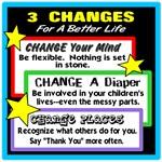 Three Changes