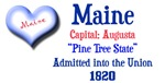 Maine: The Pine Tree State