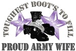 Toughest Boots Purple