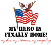 My Hero Is Finally Home - USAF