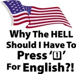 Press '1' For English