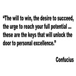 Confucius Personal Excellence Quote