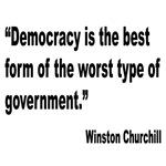 Churchill Democracy Quote