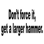 Larger Hammer Humor