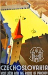 Czechoslovakia Travel Poster 1