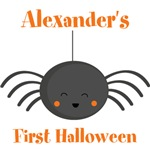 Kawaii Halloween Spider Personalized