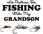 Rather Be Fishing Grandson