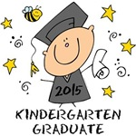 Cute Boy Kindergarten Grad 2015